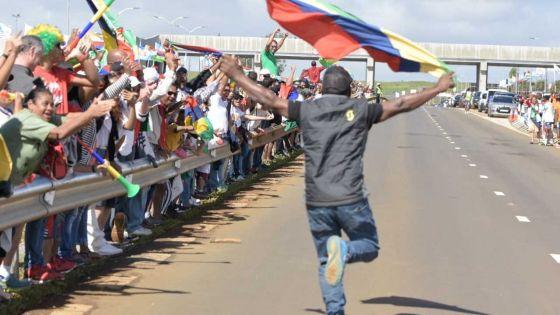 [En images] JIOI- Cyclisme : joie indescriptible dans le camp des Mauriciens après la victoire en contre-la-montre
