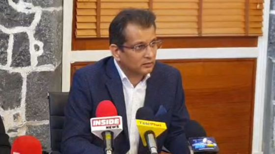 Du PMO, suivez en direct la conférence de presse du Dr Zouberr Joomaye