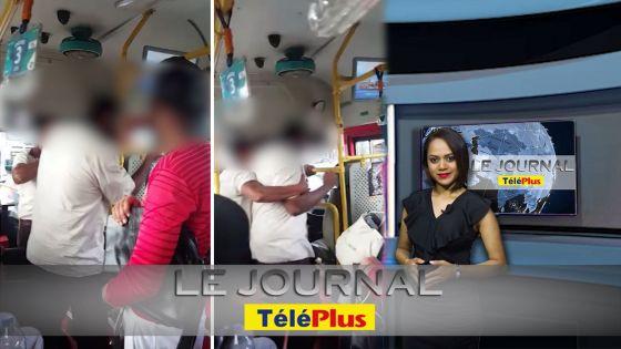 Le JT : Une passagère violemment insultée par le chauffeur d'un autobus