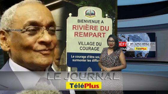 Le JT - Démission de Vishnu Lutchmeenaraidoo – réactions au no 7