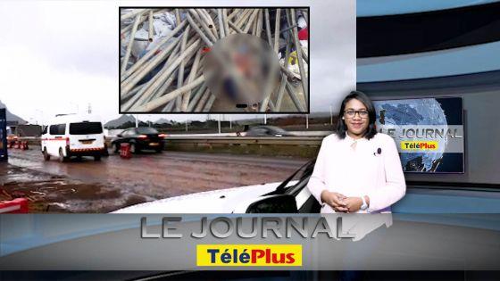 Le JT – Mort d'un ouvrier chinois sur le chantier du complexe sportif de Côte d'Or