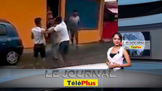 JT - Agression au « cutter » à Montagne-Blanche, trois jeunes se bagarrent devant une boutique
