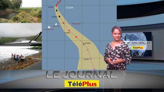 Le JT: Maurice sous la menace de Cilida, l'alerte 3 pas à écarter
