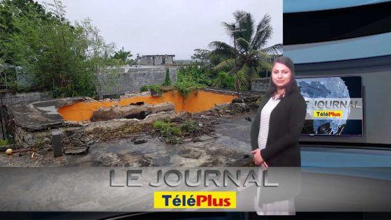 Le JT – Le toit d'une maison s'effondre à Goodlands