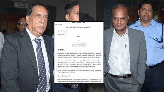 Chady et Maunthrooa condamnés à neuf mois de prison : voici le jugement et les points d'appel dans l'affaire Boskalis