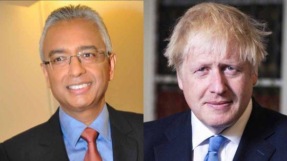 Tête-à-tête Jugnauth/Johnson à Londres : «une volonté de poursuivre des discussions sur le dossier Chagos»
