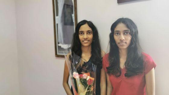 Au Rabindranath Tagore Secondary School : deux jumelles en compétition, une sacrée lauréate