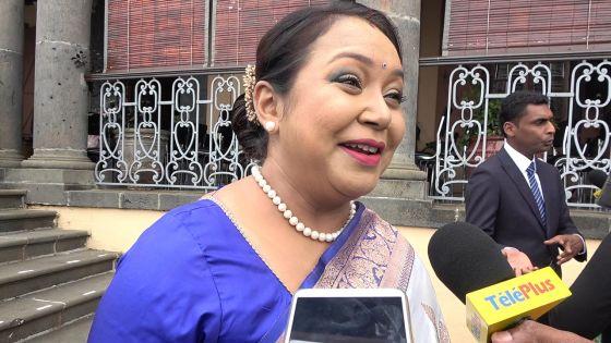 «Les femmes doivent cesser de subir des atrocités», soutient Kalpana Koonjoo-Shah, nouvelle ministre de l'Egalité des genres