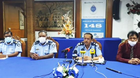 Suivez en direct la conférence de presse du CP Khemraj Servansing