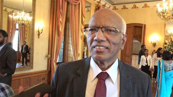 L 'ancien chef juge Keshoe Parsad Matadeen nommé président de la Commission de pourvoi en grâce
