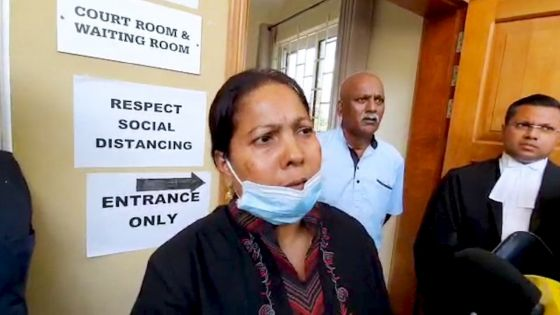Enquête judiciaire sur la mort de Soopramanien Kistnen : « Cette affaire doit être un crime politique », selon son épouse, Shakuntala Kistnen