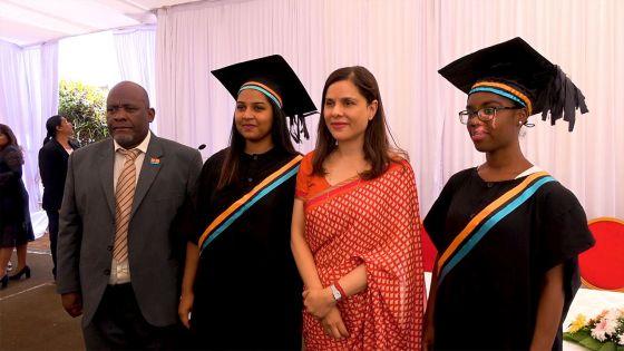 Kobita Jugnauth : «L'éducation des jeunes filles permet à une société de faire un grand pas en avant»