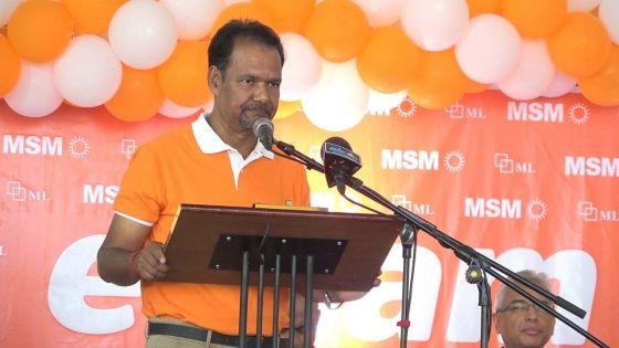 MSM-ML : le Dr Kowlessur remplacé au no 12 après avoir confondu Pravind Jugnauth avec SAJ