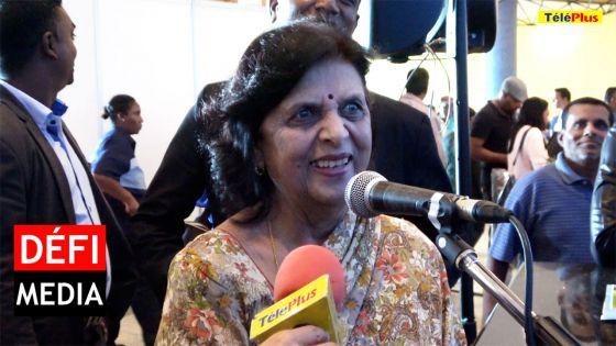 Salon du Déstockage : Pour Lady Sarojini Jugnauth «autant de choses sous un seul toit»