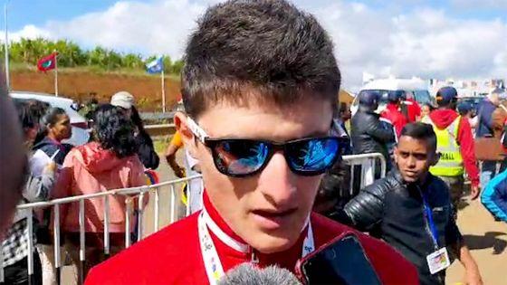 JIOI - Cyclisme : «le vent était assez fort», souligne le cycliste mauricien Christopher Lagane