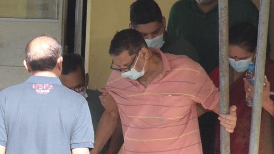 Trafic allégué de psychotropes : après sept jours d'hospitalisation, Lalldun Bissoonauth, l'un des suspects, entendu