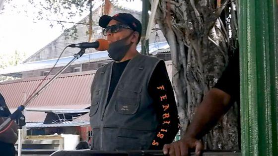 Lutte contre le trafic de drogue : rassemblement pacifique d'Ally Lazer au jardin de la Compagnie