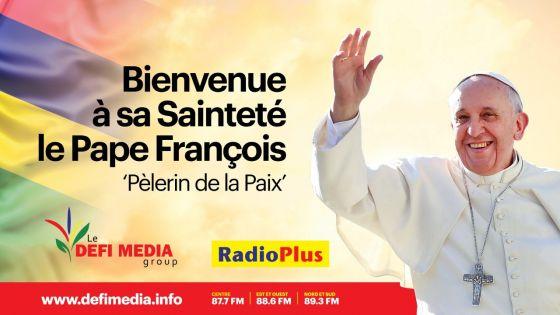Visite du pape François à Maurice : ne ratez rien de la visite papale sur les plateformes du Défi Media Group