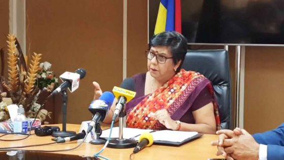 Suivez la conférence de presse de Leela Devi Dookun-Luchoomun