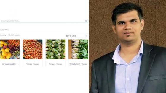 Couvre-feu sanitaire : un jeune lance une plateforme en ligne pour regrouper les planteurs pour la vente de légumes
