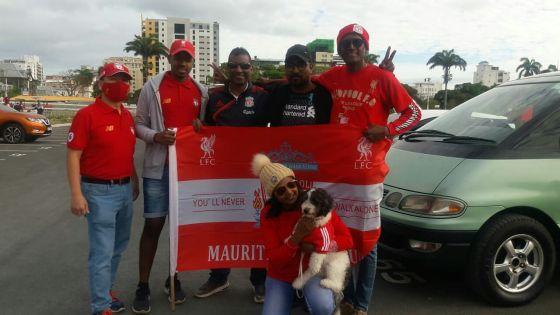 [En images] Défilé des fans des Reds ce dimanche