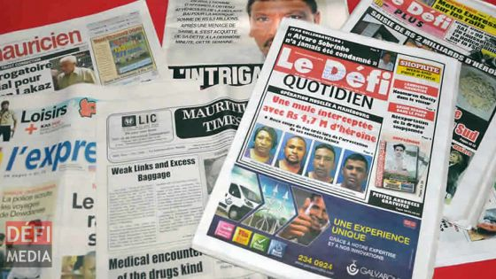 Liberté de la presse : Maurice descend de cinq places dans le classement mondial de Reporters sans frontières