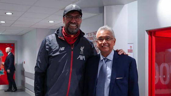 Pravind Jugnauth : «Grand bravo à Liverpool»