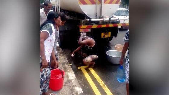 Grand-Bois : il prend son bain de la St-Sylvestre en plein air avec l'eau d'un camion-citerne