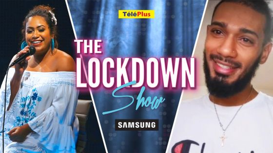 The Lockdown Show powered by Samsung Mauritius : Vanessa Mathews reçoit JSB Morning Game