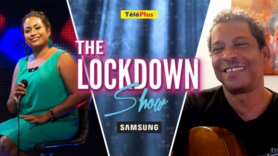 The Lockdown Show : Vanessa Mathews accueille Désiré François