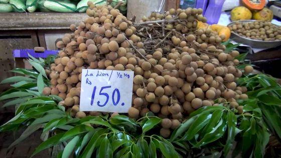 A Rs 150 la livre, les longanes laissent un goût aigre-doux…