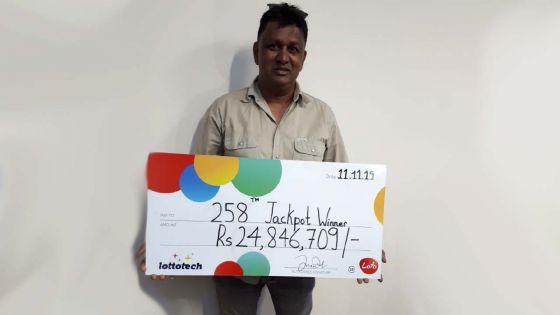 Loto : 15 familles se partagent la coquette somme de Rs 25 millions