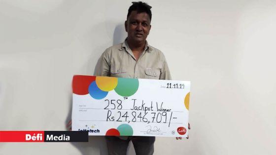 Loto : 15 familles se partagent la coquette somme de Rs 25 M