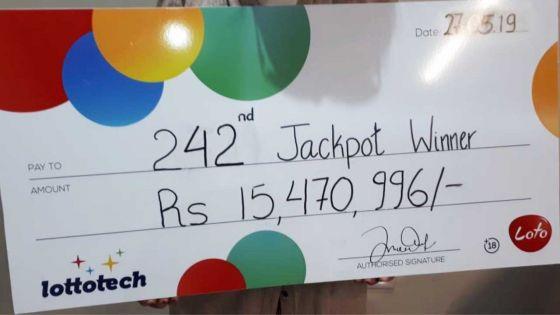 Elle empoche plus de Rs 15 millions au Loto : «ene zoli kado pou fet mama»