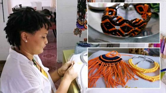 Entreprenariat - Bijoux en micro-macramé : La vente en ligne comme bouée de sauvetage pour Ornellia Hector