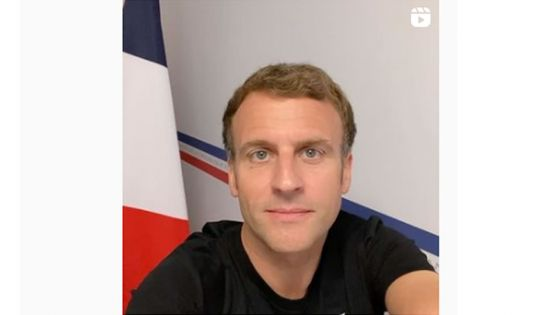 France: en mode selfie sur Instagram et Tik Tok, Macron veut répondre aux fausses informations sur le vaccin