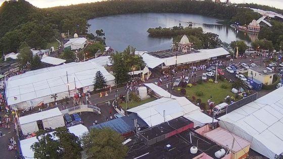 Mahashivratree: une grande foule de pèlerins attendue ce soir à Grand-Bassin