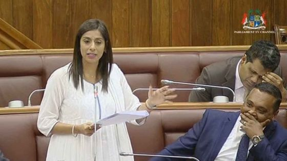 Débats budgétaires - Malini Seewocksing cible le ministre de l'Agro-industrie