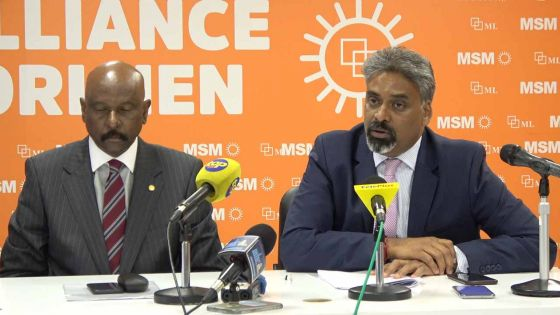 Maneesh Gobin, Attorney General : «It is not on the merits» en parlant du ruling dans l'affaire «des coffres-forts» de Navin Ramgoolam