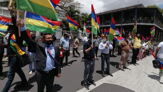 En images -  Affaire Soopramanien Kistnen : manifestation à Port-Louis pour demander justice
