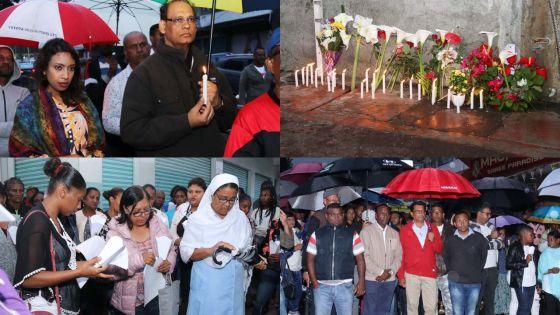 Rose-Belle : une marche pour rendre hommage aux six personnes tuées dimanche dernier