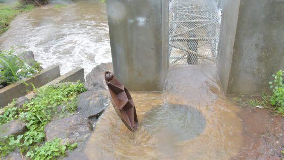 Résidence-La-Cure : accumulations d'eau à Pont-Marjolin