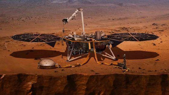 InSight sur Mars : atterrissage le 26 novembre