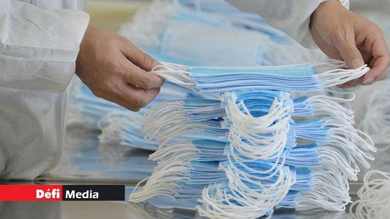 Covid-19  :  Plus de 2 millions de masques et 100 000 visières de protection arrivent ce 10 avril