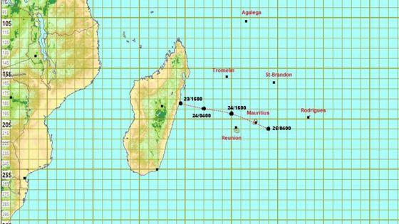 Météo : l'alerte cyclonique 1 maintenue à Maurice
