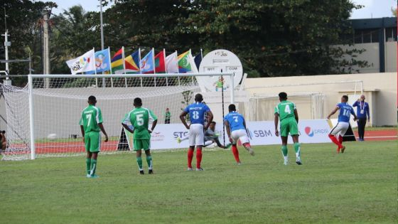 JIOI – Football : Mayotte s'impose face aux Comores par 2 buts à 0