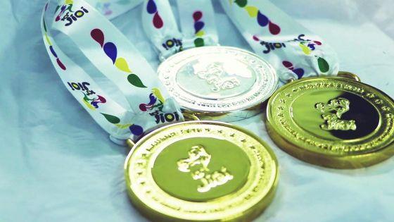 JIOI : l'île Maurice suit de près La Réunion au classement provisoire des médailles, à 19h20, ce dimanche
