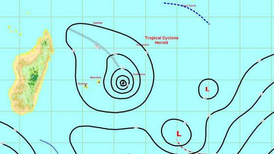 Cyclone Herold : Rodrigues passe en alerte 4