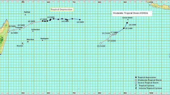 Météo : intensifiée en tempête tropicale modérée, Eloïse n'influencera pas le temps à Maurice