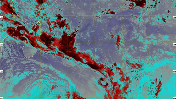 Météo : «une zone de basse pression en gestation» au nord-ouest de Maurice ; des averses orageuses attendues